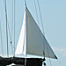 "FinDelta #2  ""White"" Anchor Riding Sail for Boats 33 to 46 Feet"